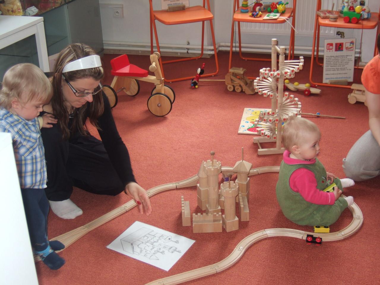 Rosa vystavovala hračky v Prachaticích